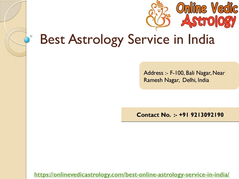 Best Vedic Astrology In India