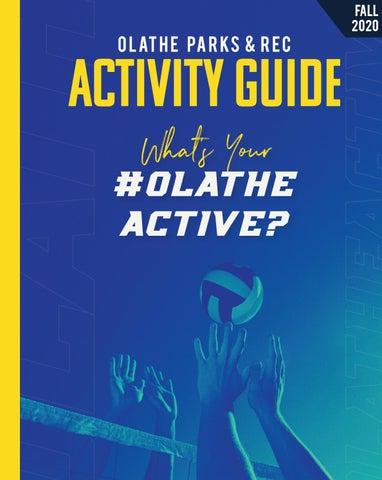 Halloween Temperatures Olathe Ks 2020 Olathe Parks & Rec Activity Guide   Fall 2020 by Olathe Parks