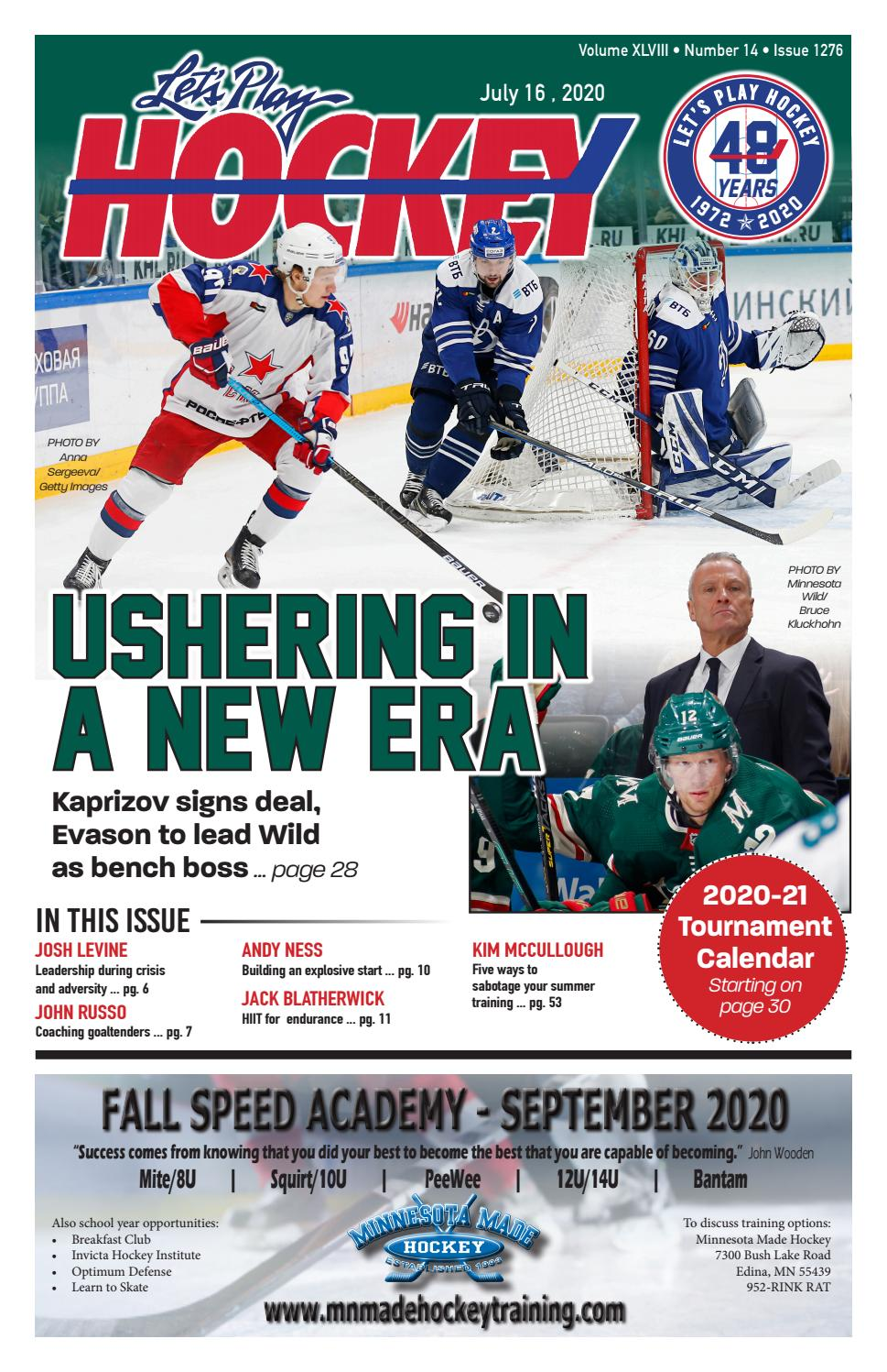 Let S Play Hockey July 2020 Issue By Let S Play Hockey Issuu