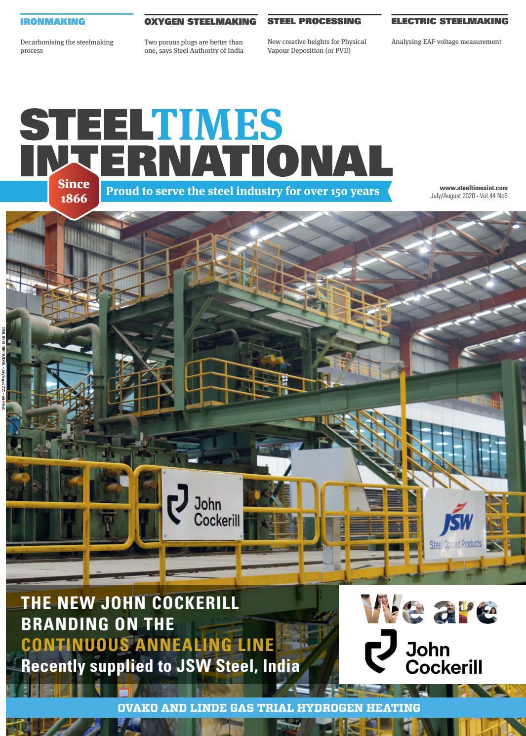 Steel Times International July August 2020 By Quartz Business Media Issuu