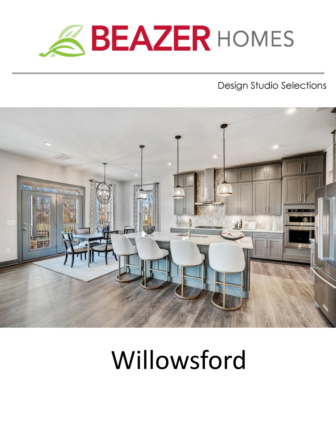 Beazer Homes At Willowsford Design Studio Preview By Beazer Virginia Issuu