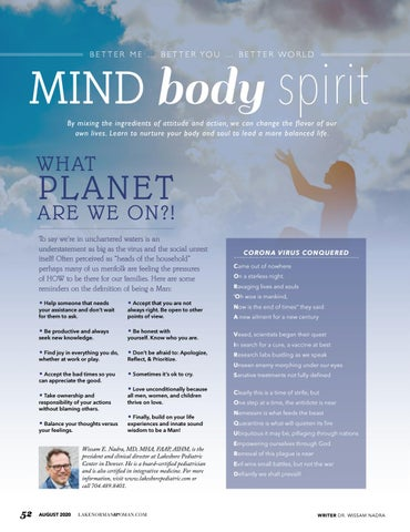 Page 52 of MIND, BODY, SPIRIT