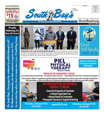 July 22, 2020 Copiague by South Bay's Neighbor Newspapers - issuu
