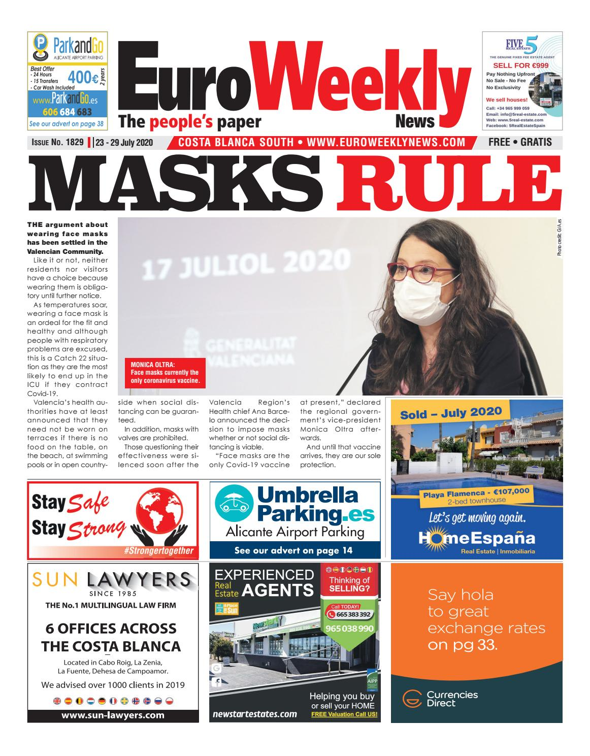 Euro Weekly News Costa Blanca South 7 13 March 2019 Issue 1757 By Euro Weekly News Media S A Issuu
