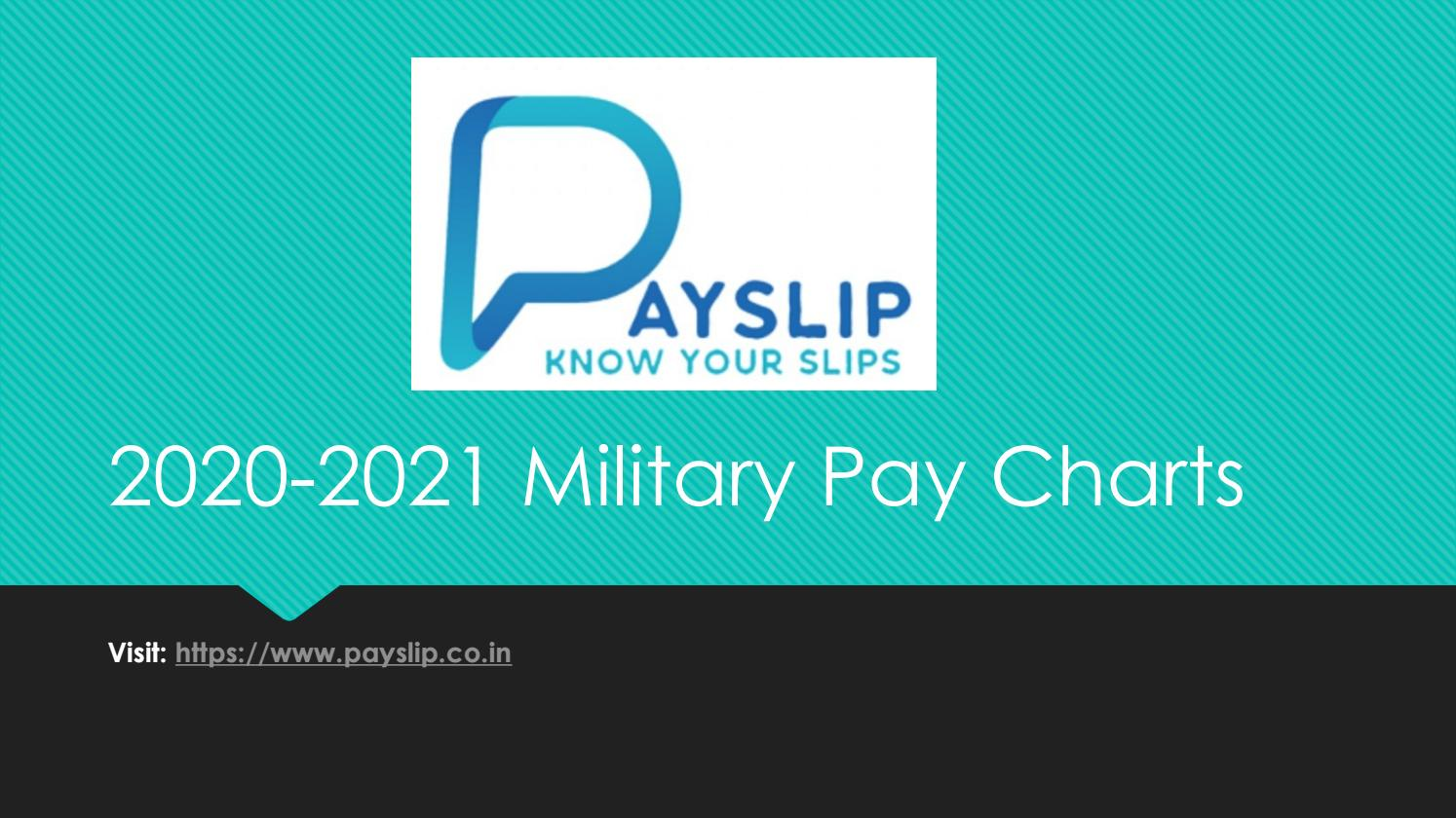 Check Military dfas Pay Chart 20  US Military Pay Scale by ...