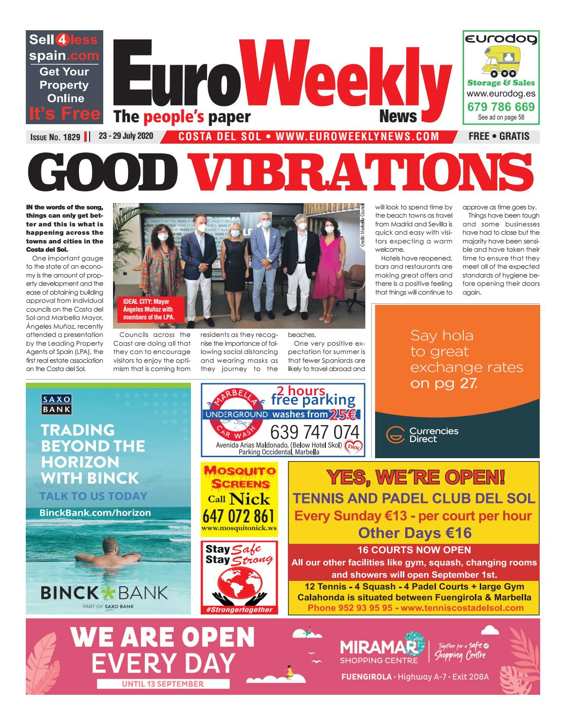 Euro Weekly News - Costa del Sol 9 - 9 July 9 Issue 189 by