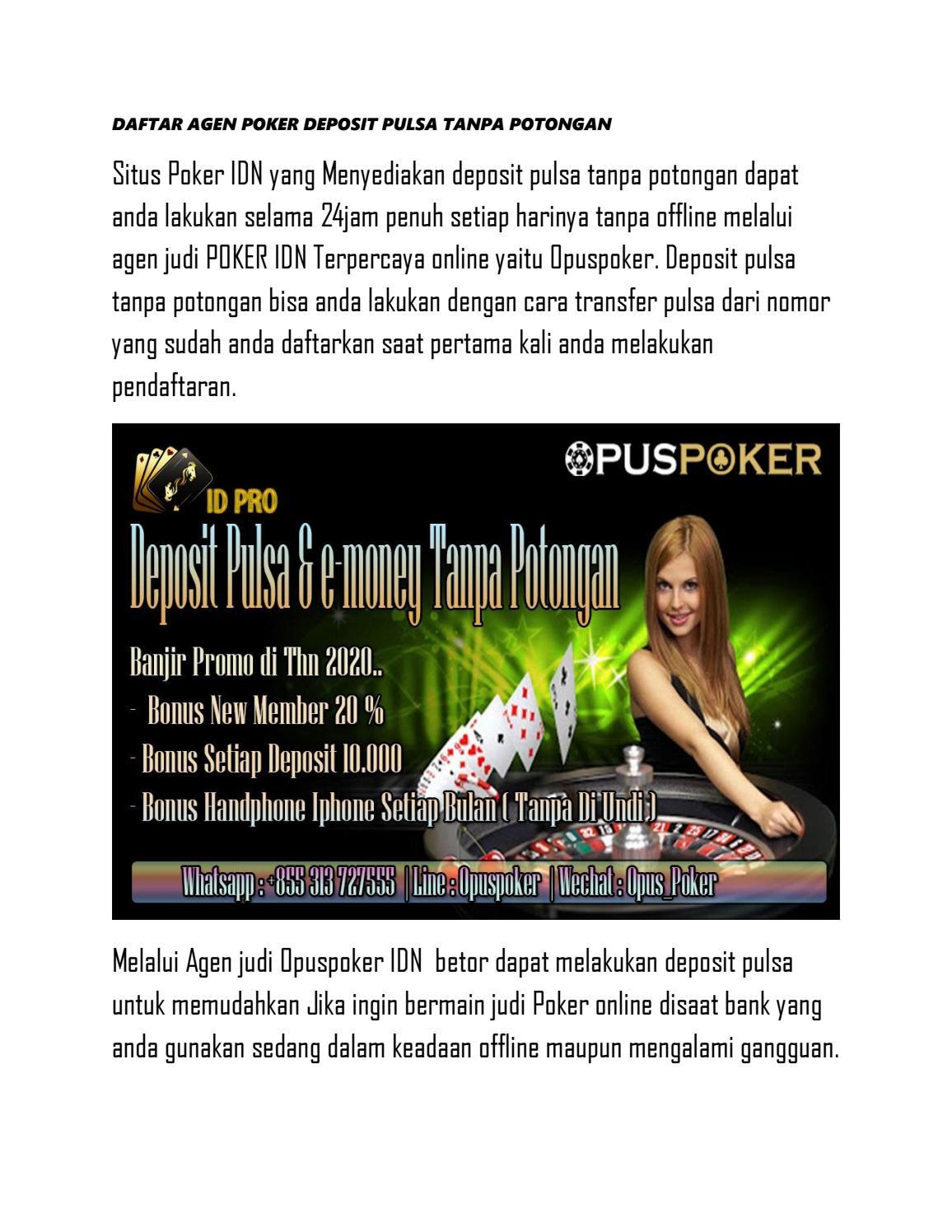 Agen Poker Pulsa Agen Judi Online Situs Judi Online Situs Poker Pulsa Bandar Judi Online By Agen Poker Pulsa Agen Judi Online Situs Judi Online Bandar Judi Online Issuu