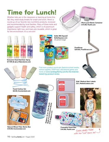 Page 16 of New Lunchtime Products
