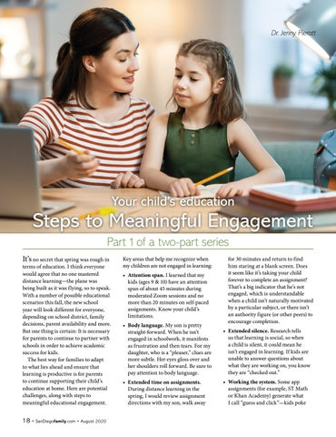 Page 18 of Your child's education: Steps to Meaningful Engagement