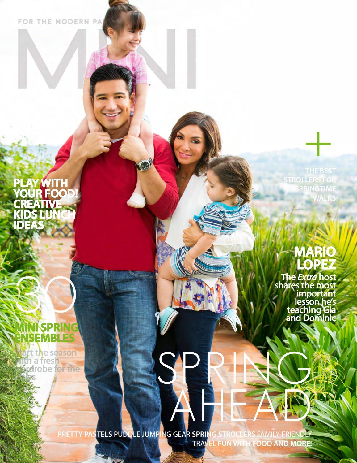 Mini Magazine Spring 2015 Mario Lopez By Mini Magazine Issuu