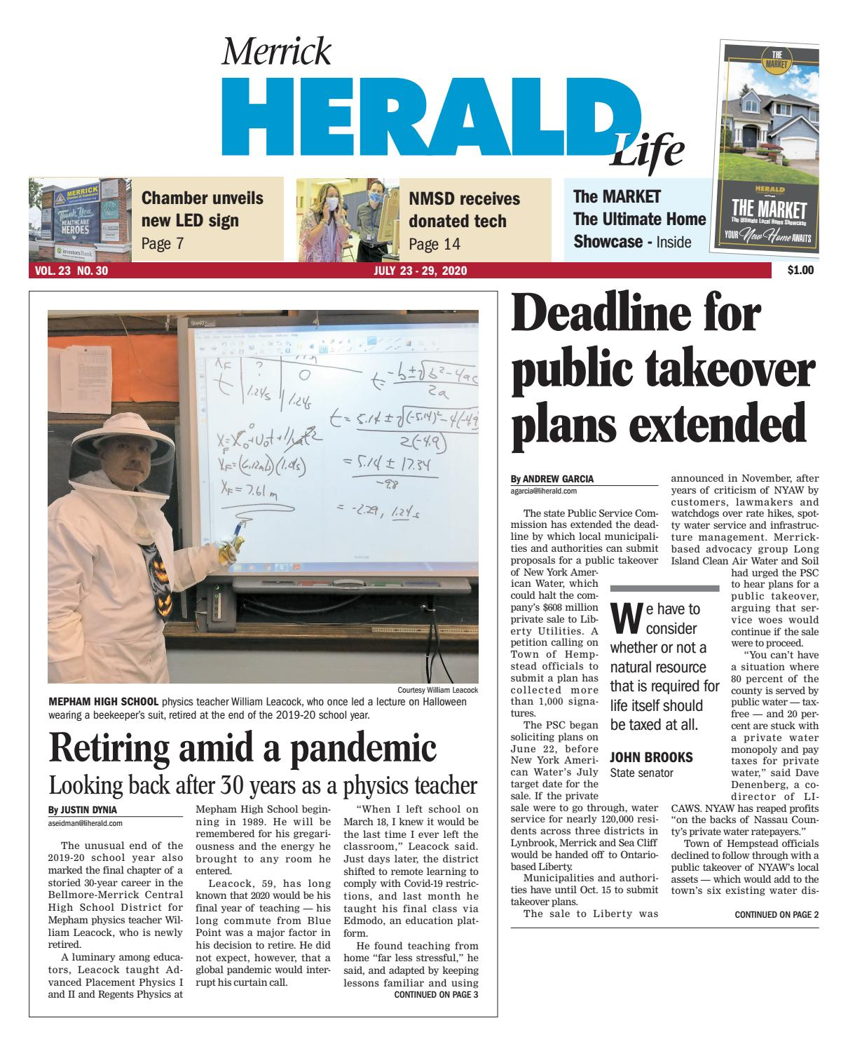 Merrick Halloween Parade 2020 Merrick Herald 07 23 2020 by Richner Communications, Inc   issuu