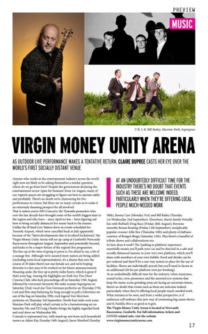 Page 17 of VIRGIN MONEY UNITY ARENA