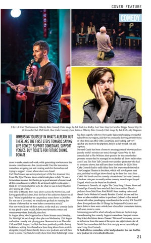 Page 21 of SAVE LIVE COMEDY