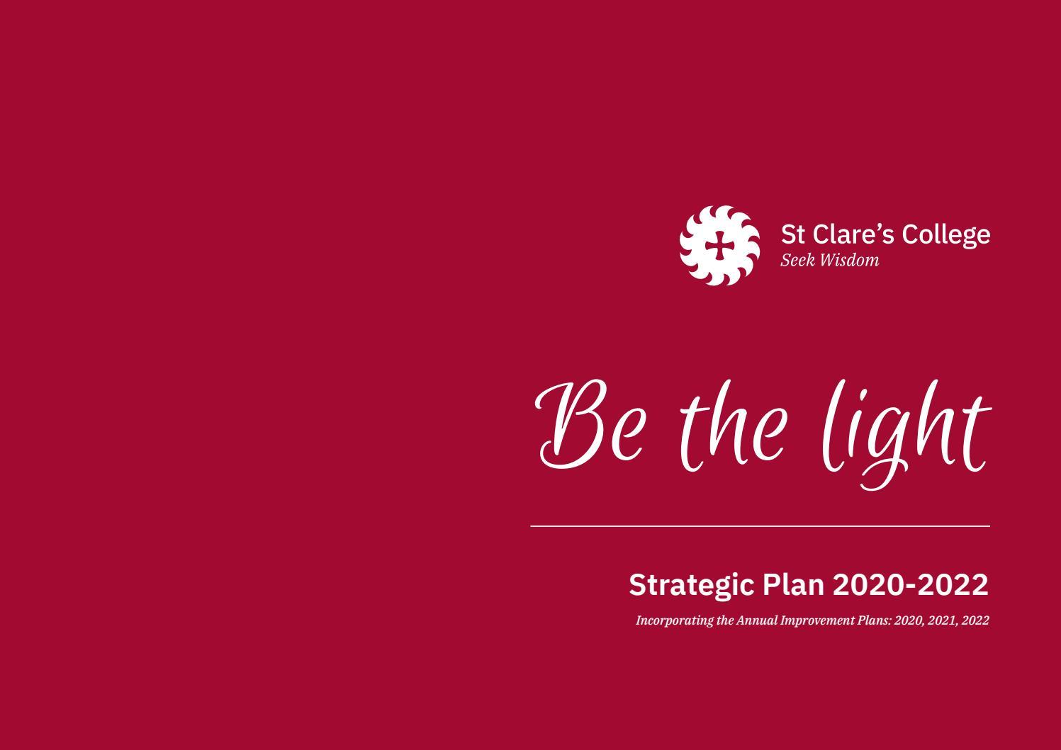 Strategic Plan 2020-2022