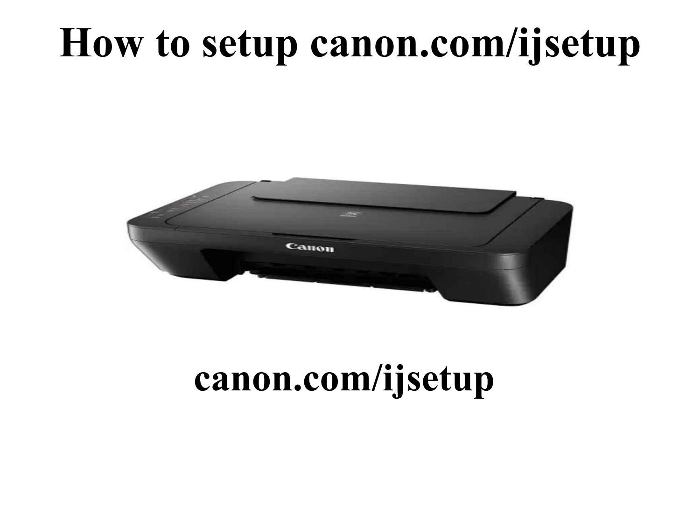 How to SetUp canon.com/ijsetup by James Smith   issuu