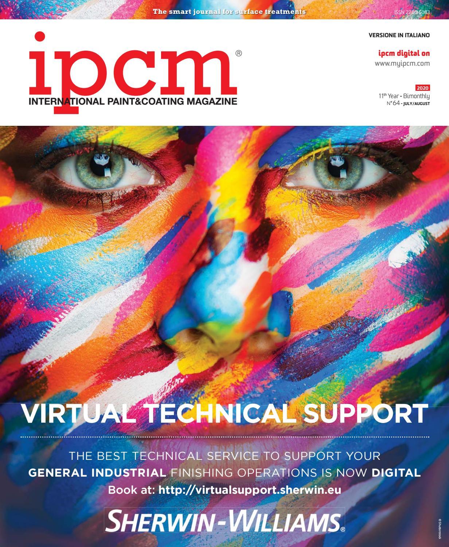 Ipcm N 64 Luglio Agosto 2020 By Ipcm International Paint Coating Magazine Issuu