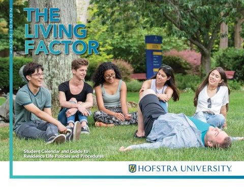 Hofstra Fall 2021 Calendar The Living Factor   2020   2021 by Hofstra University   issuu