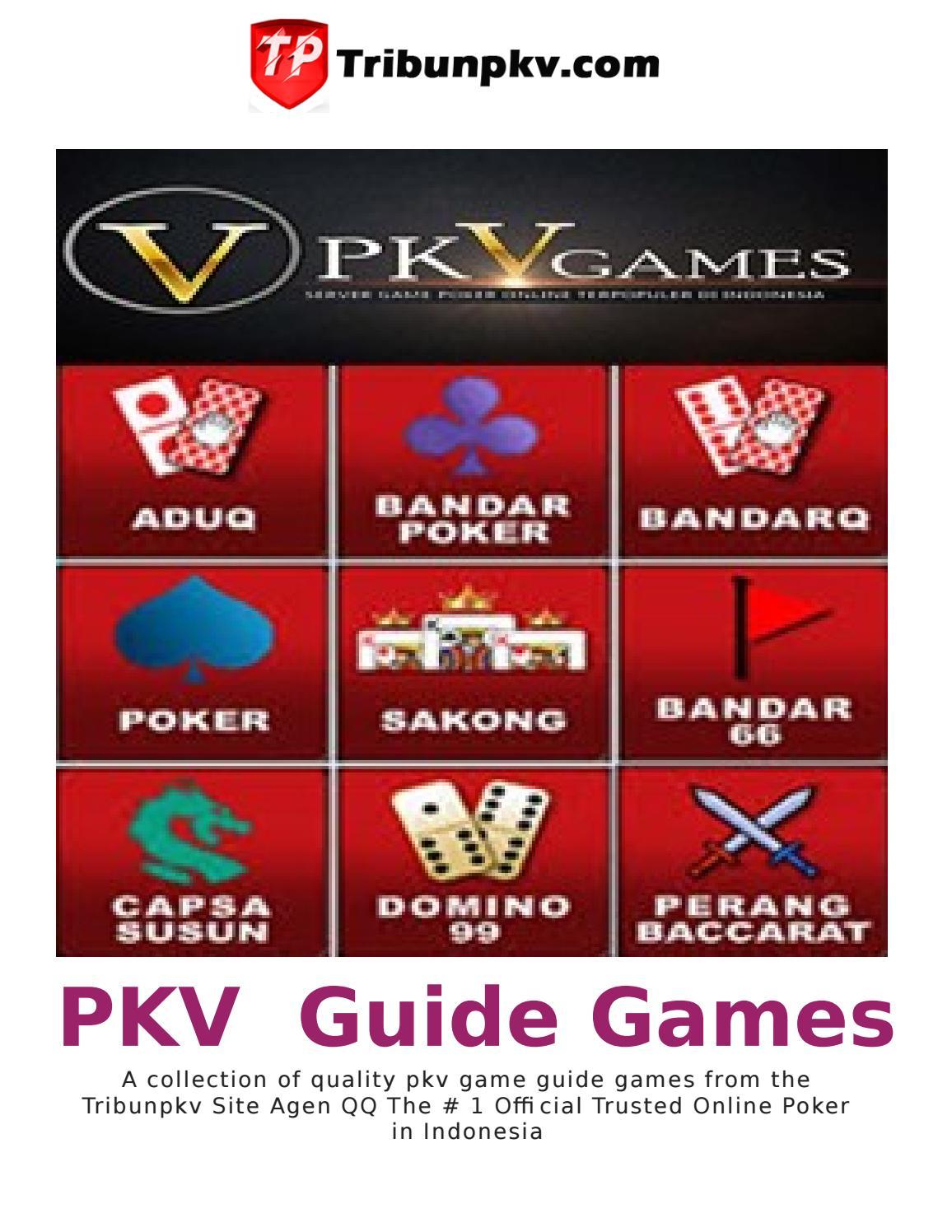 Daftar 200 Situs Judi Qq Poker Online Dominoqq Pkv Games By Tribun Aku3 Issuu