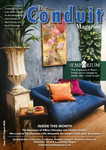 The Conduit Magazine August 2020 By Shelleys The Printers Ltd Issuu