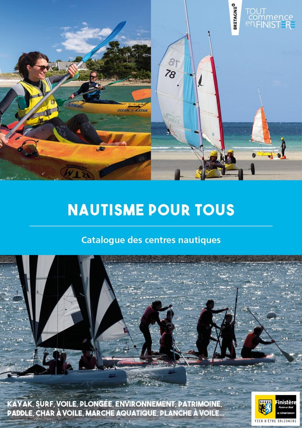 Nautisme Pour Tous Catalogue By Finistere 360 Issuu