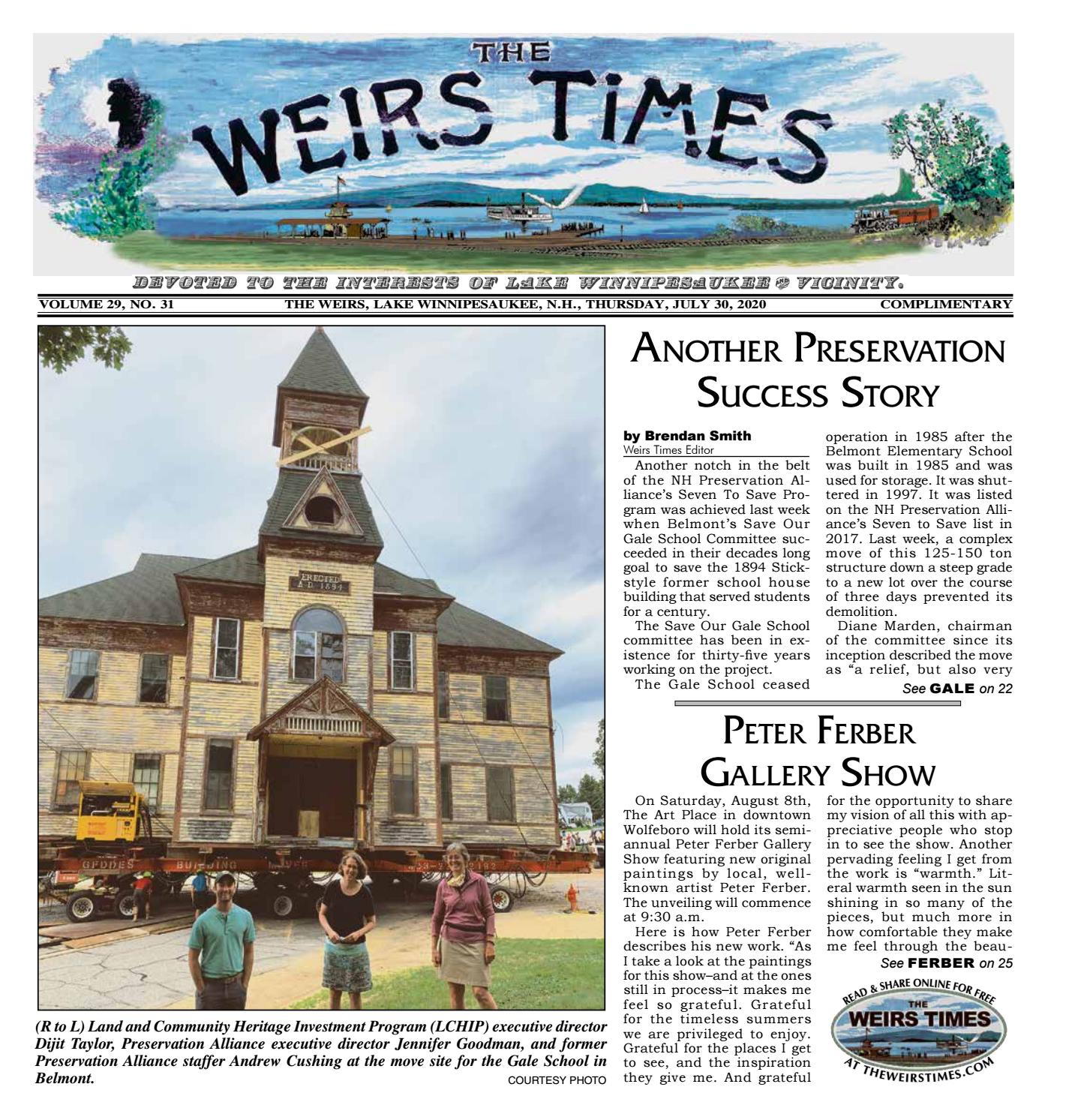 07 30 2020 Weirs Times By The Weirs Publishing Company Issuu