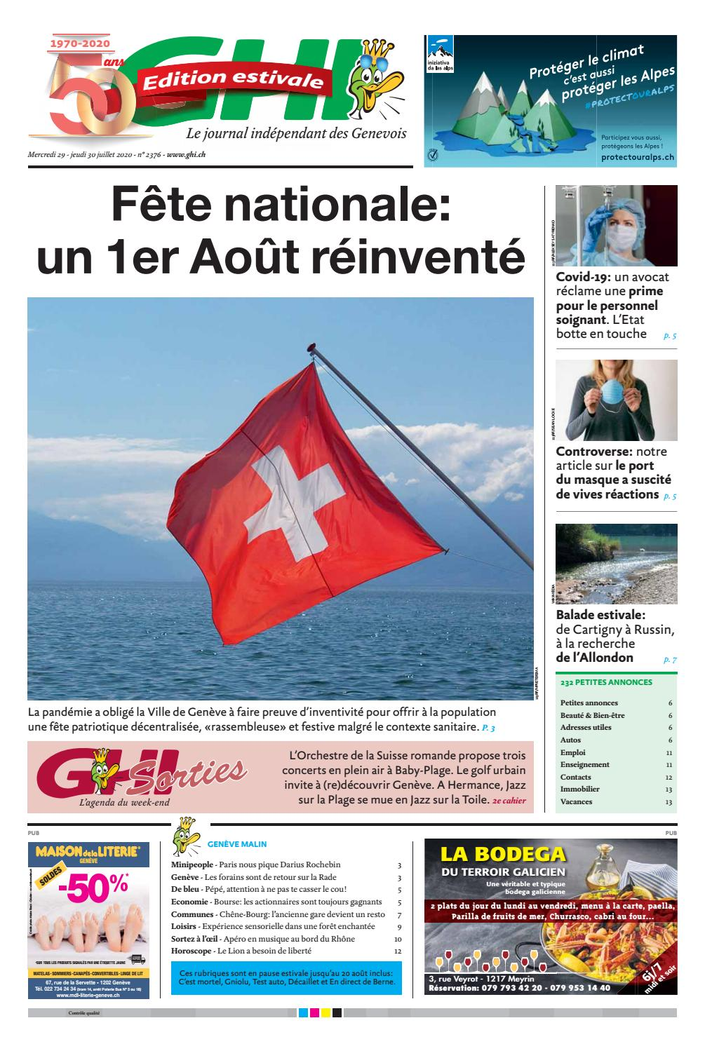 Ghi Du 30 Juillet 2020 Clients By Ghi Lausanne Cites Issuu