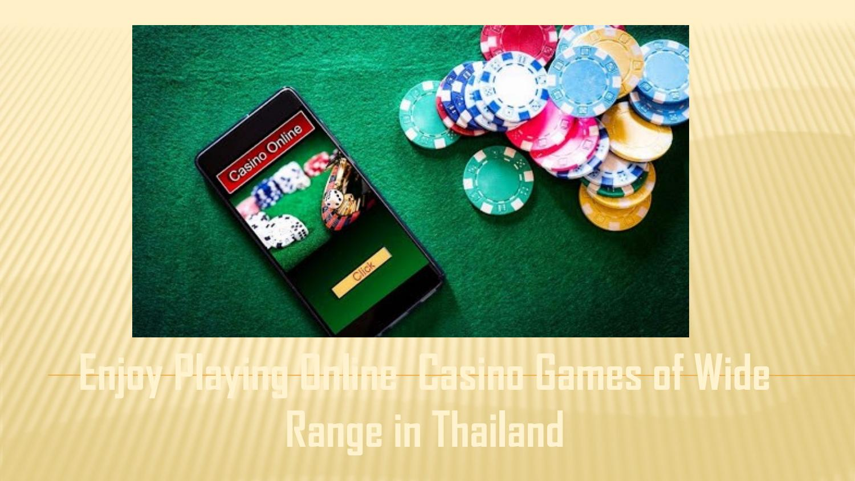 Enjoy online casino gambling sandia casino news