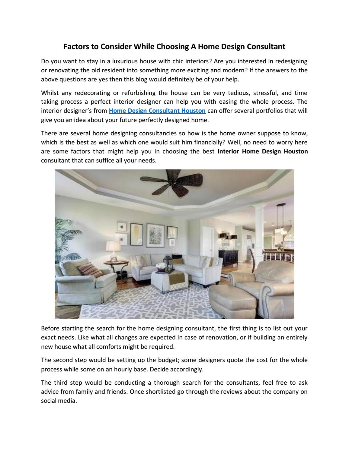 Home Design Consultants At Superior Interior Home Designs By Rachael Ross Issuu