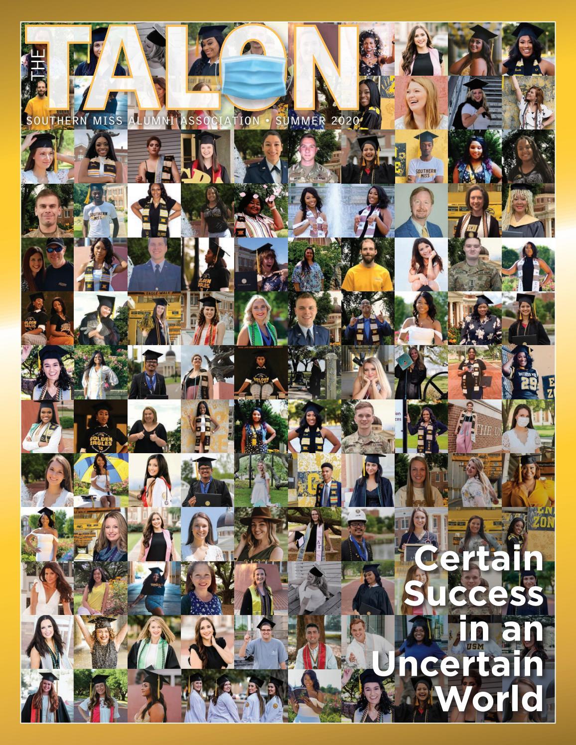 Usm Academic Calendar Fall 2022.The Talon Summer 2020 By Southern Miss Alumni Association Issuu