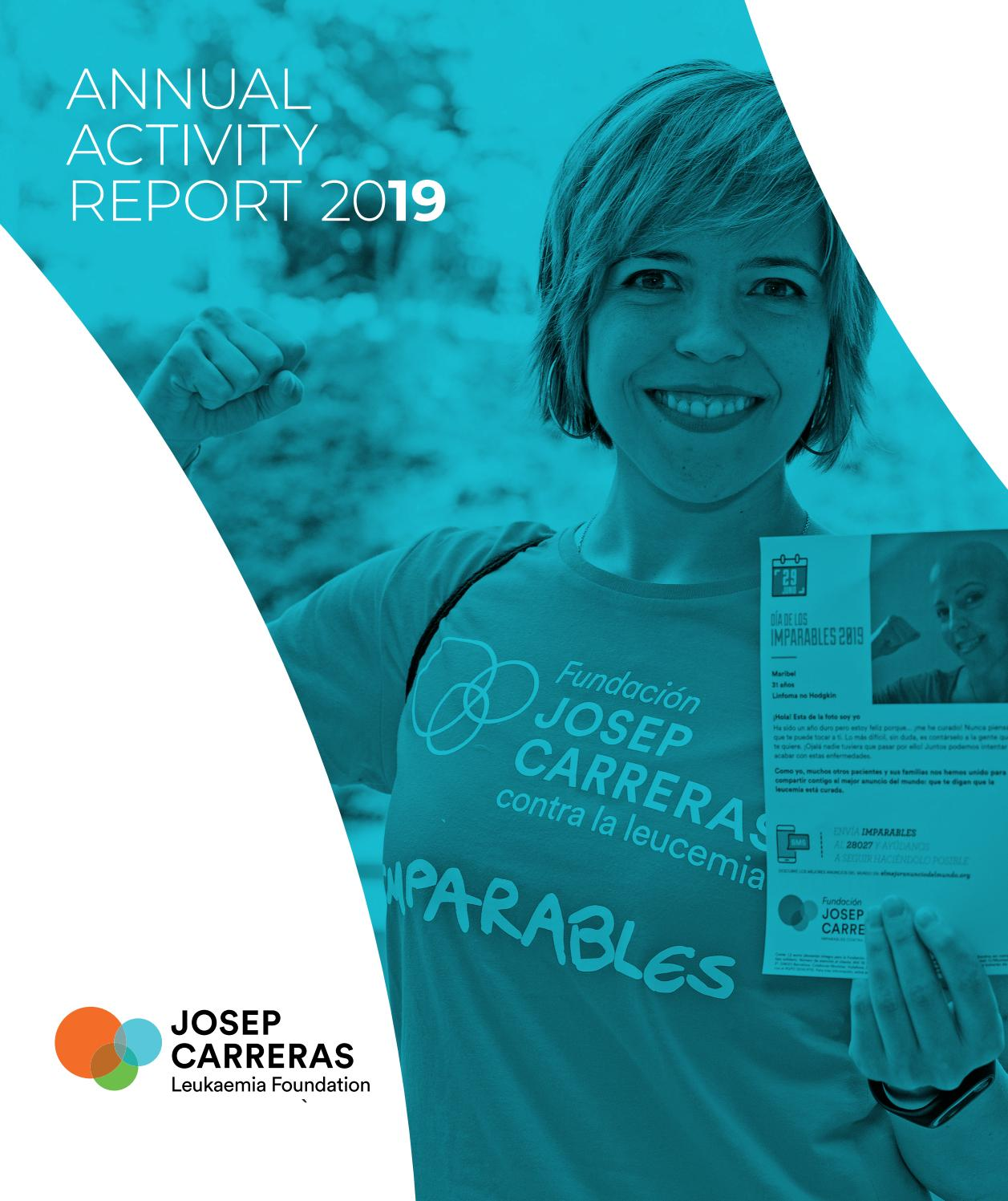 Annual Activity Report 2019 By Fundación Josep Carreras Contra La Leucemia José Carreras Leukaemia Foundation Issuu