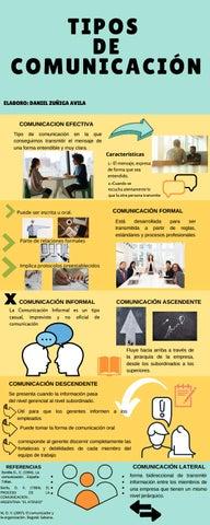 Tipos De Comunicacion Infografia By Dann Avi Issuu