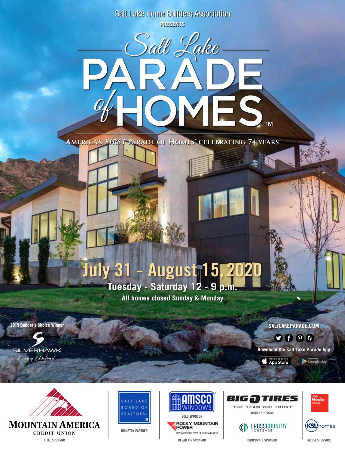 2020 Salt Lake Parade of Homes by Utah Media Group - issuu