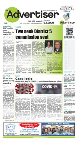 Tca 8 1 20 By Tuscola County Advertiser Issuu