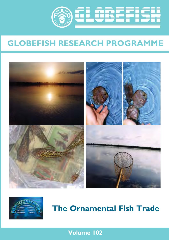 Globefish The Ornamental Fish Trade Nov 2010 By Globefish Issuu