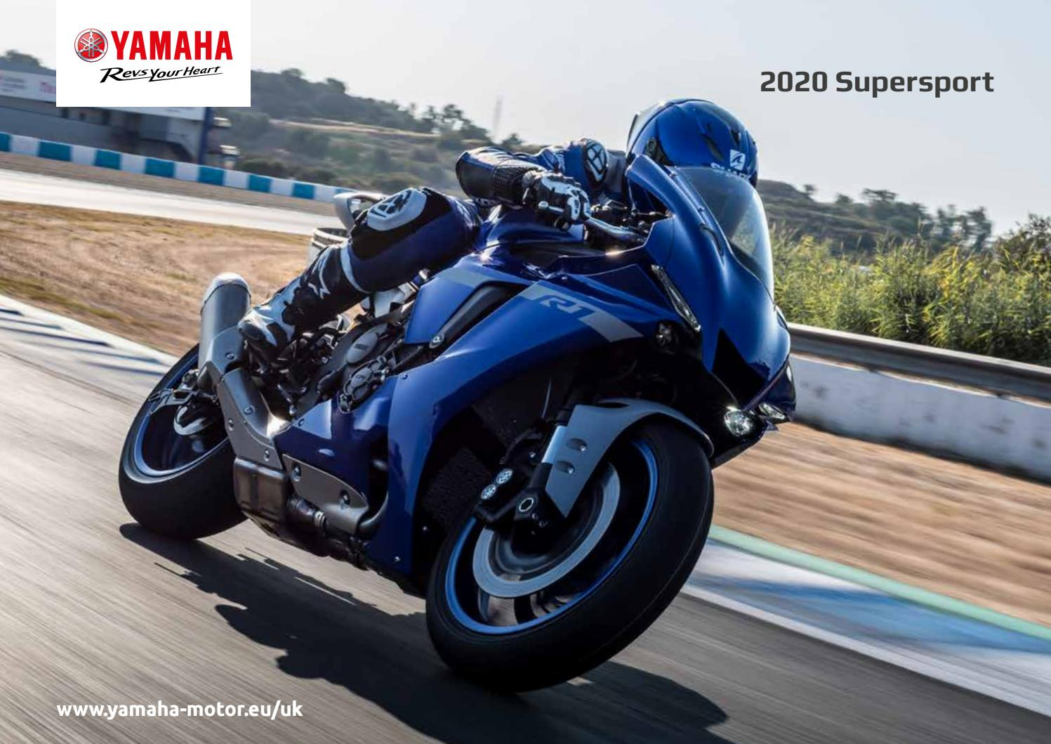 2020 Supersport Brochure By Yamaha Motor Europe Uk Issuu