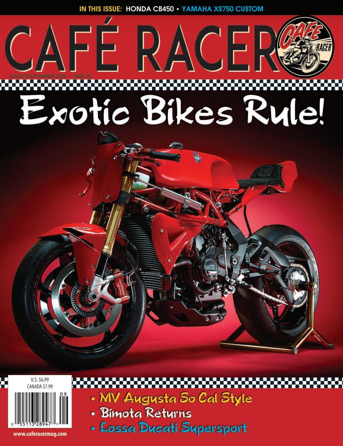 Cafe Racer Magazine Issue 70 By Cafe Racer Magazine Issuu