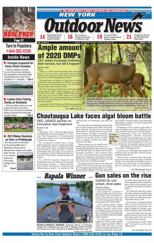 New York Outdoor News Issue 16 2020 By Outdoor News Issuu