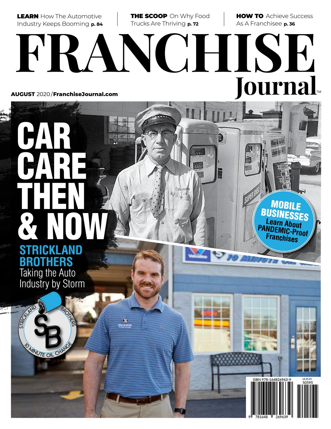 Franchise Journal August 8 by TheFranchiseJournal   issuu