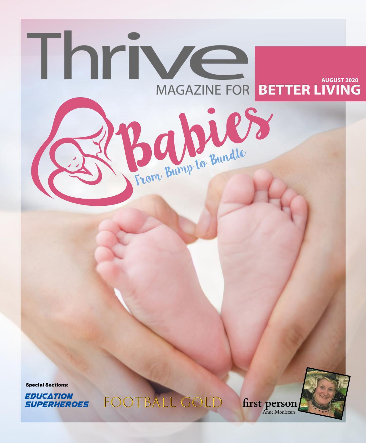 Thrive August 2020 By Thrive Magazine Issuu