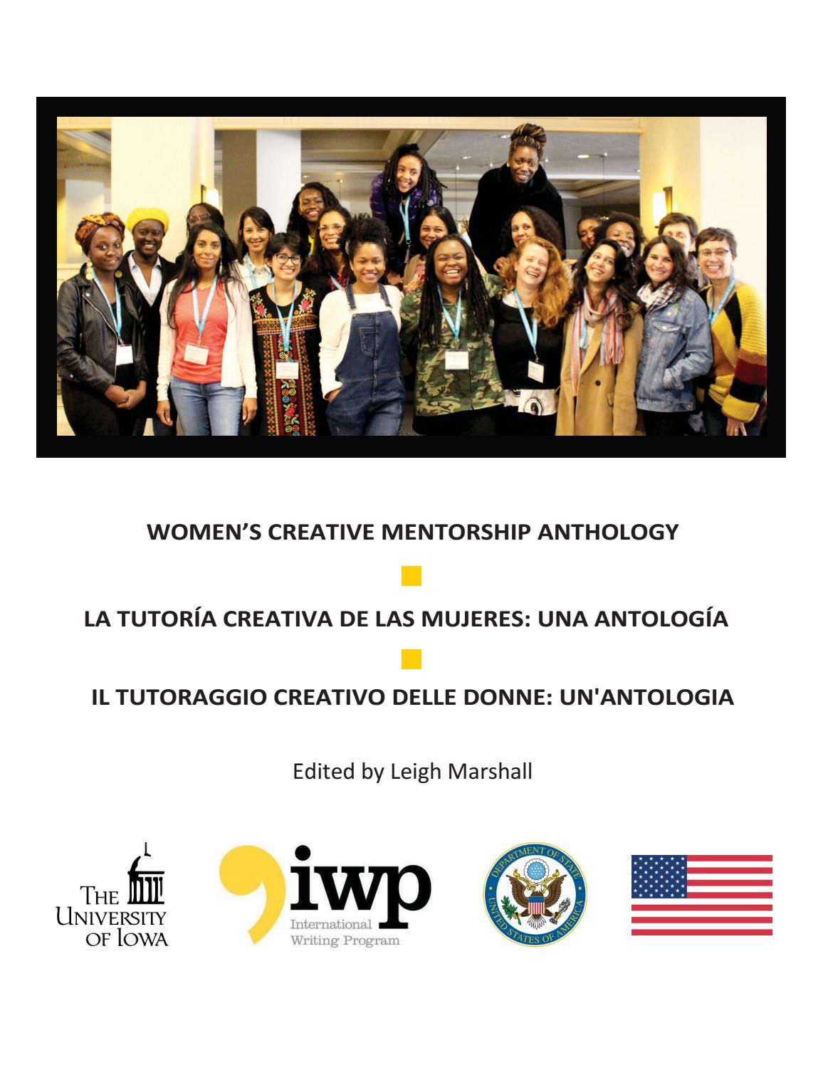 Women S Creative Mentorship Anthology By International Writing Program Issuu