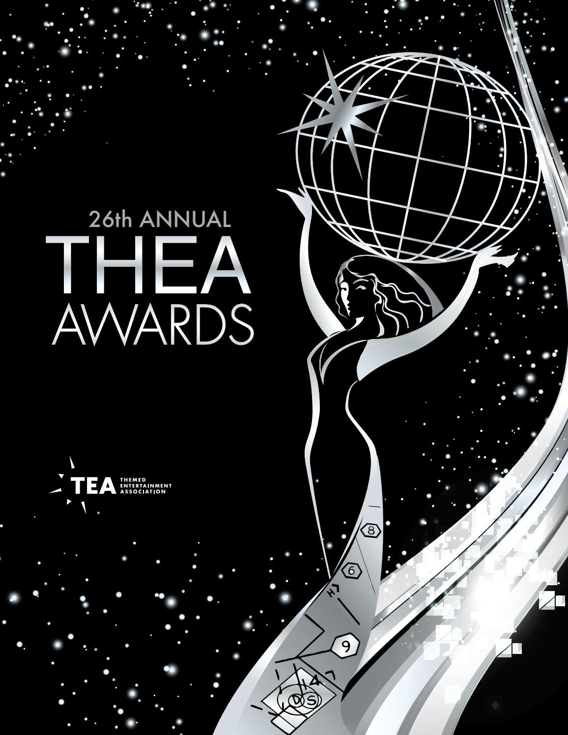 26th Annual Tea Thea Awards Program 2020 By Themed Entertainment Association Issuu