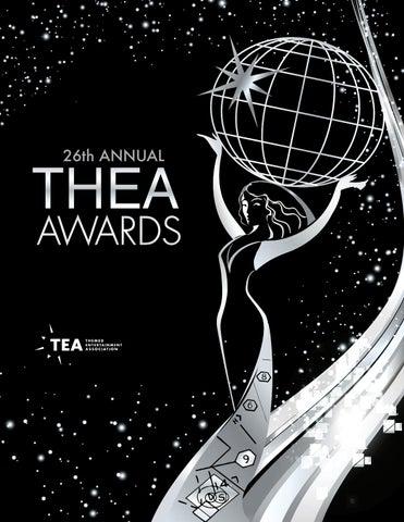 26th Annual Tea Thea Awards Program 2020 By Themed Entertainment Association Issuu