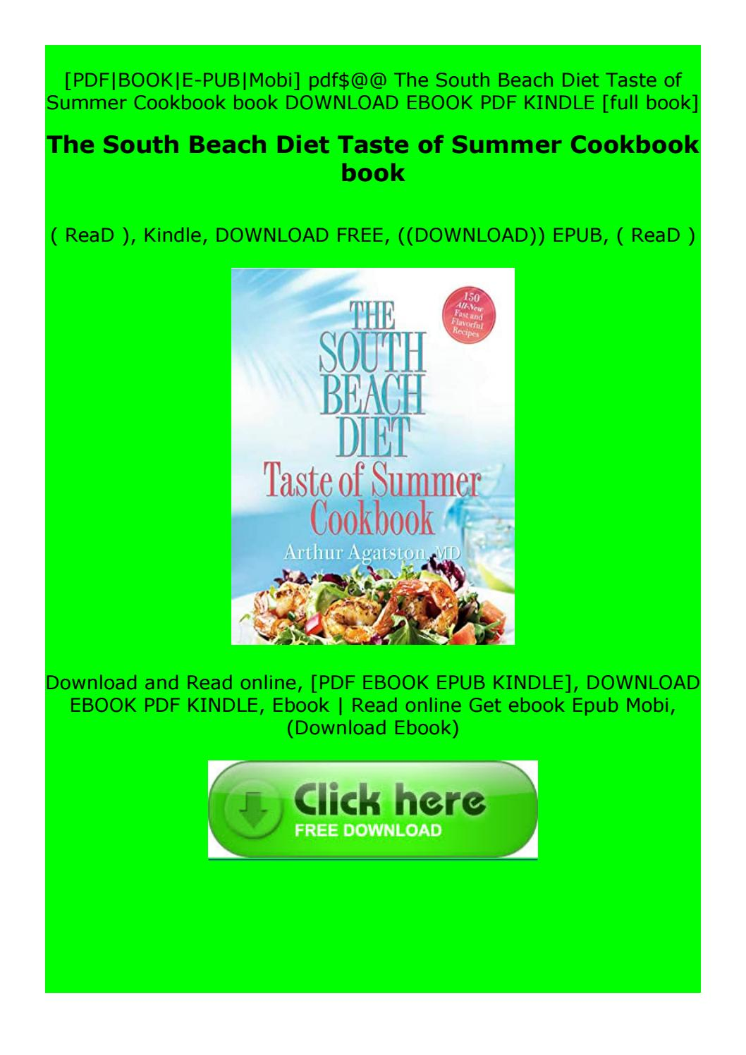 south beach diet ebook free download