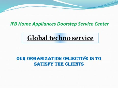 Ifb Washing Machine And Microwave Oven Service By