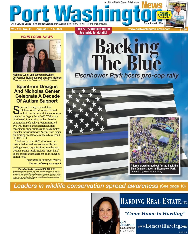 08 05 20 Port Washington News By Anton Community Newspapers Issuu