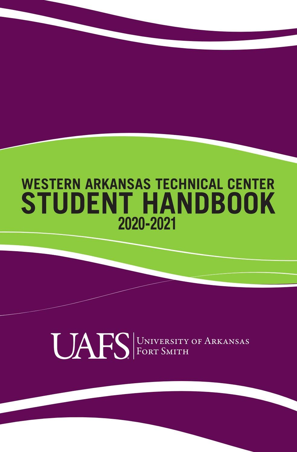 WATC Student Handbook by University of Arkansas   Fort Smith   issuu