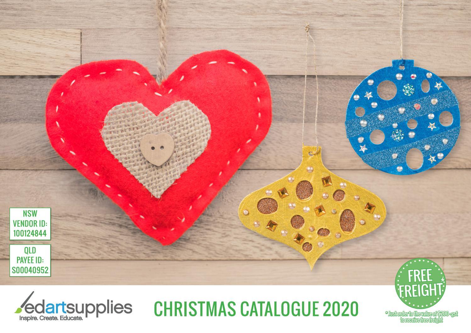 Christmas Catalogue 2020 By Edartsupplies Issuu