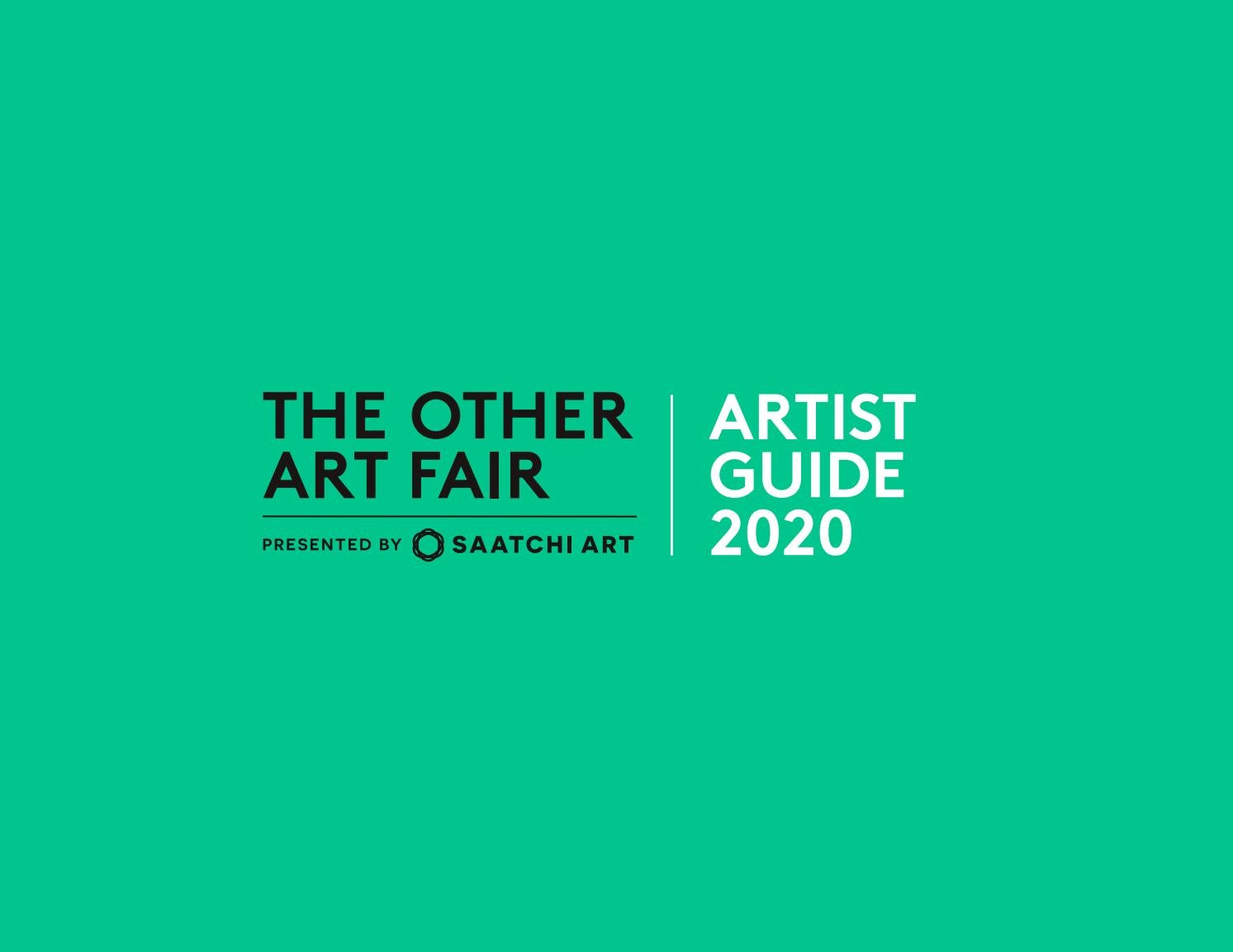 The Other Art Fair Artist Guide 2020 By Theotherartfair Issuu