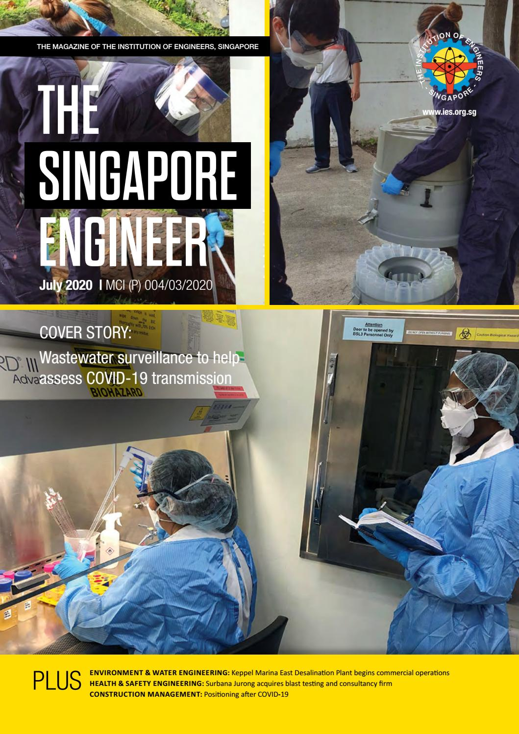 The Singapore Engineer July 2020 By The Singapore Engineer Issuu