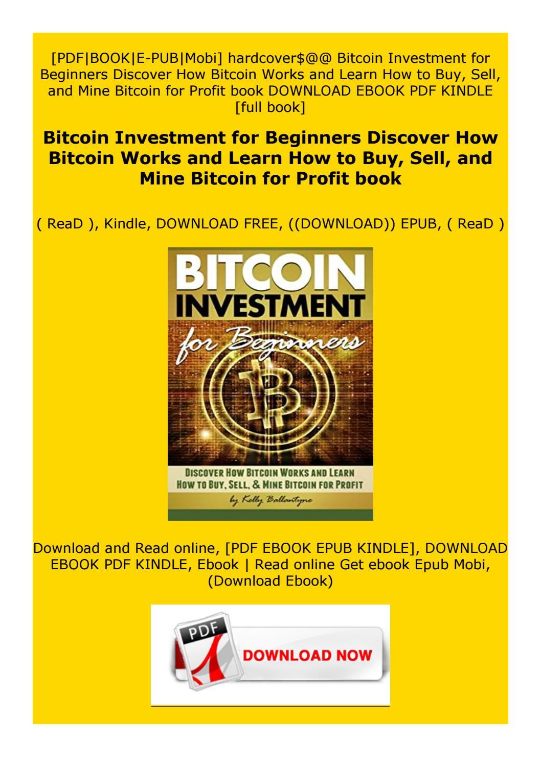 bitcoin for dummies epub
